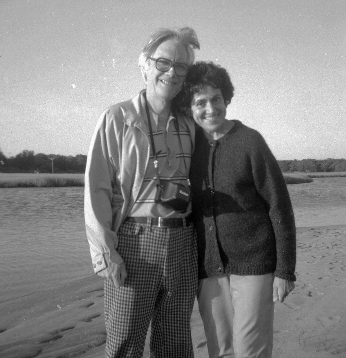 Edgar and Mina Gilbert, 1983